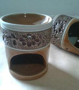 tungku aromaterapi batik